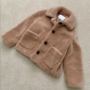 Warm and Cozy Teddy Coat